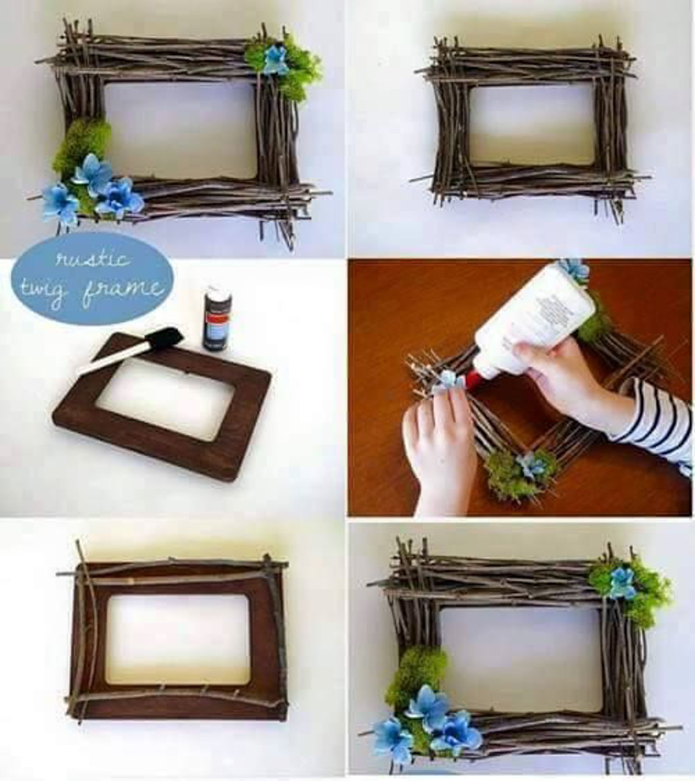 10 Effortless Diy Picture Frame Ideas Decorilo Com