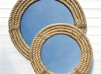 Nautical Rope Mirror for Vanity