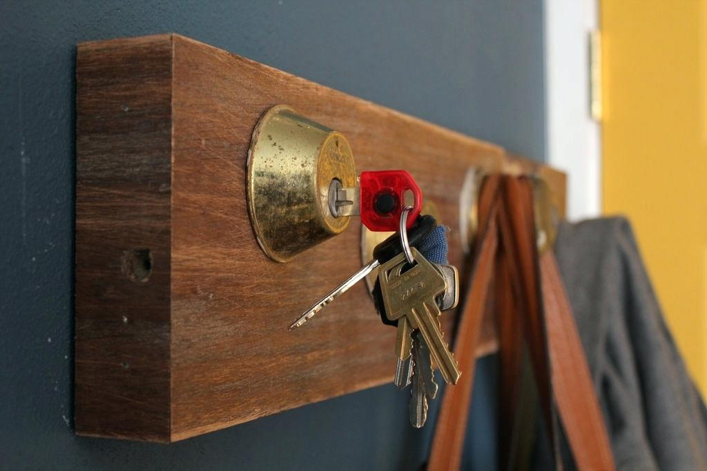 Door Knob Hat Rack