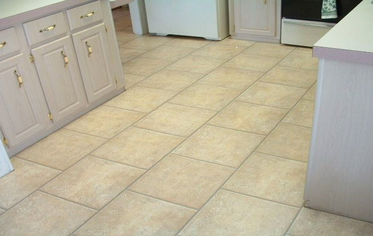 Laminated Ceramic Flooring Idea