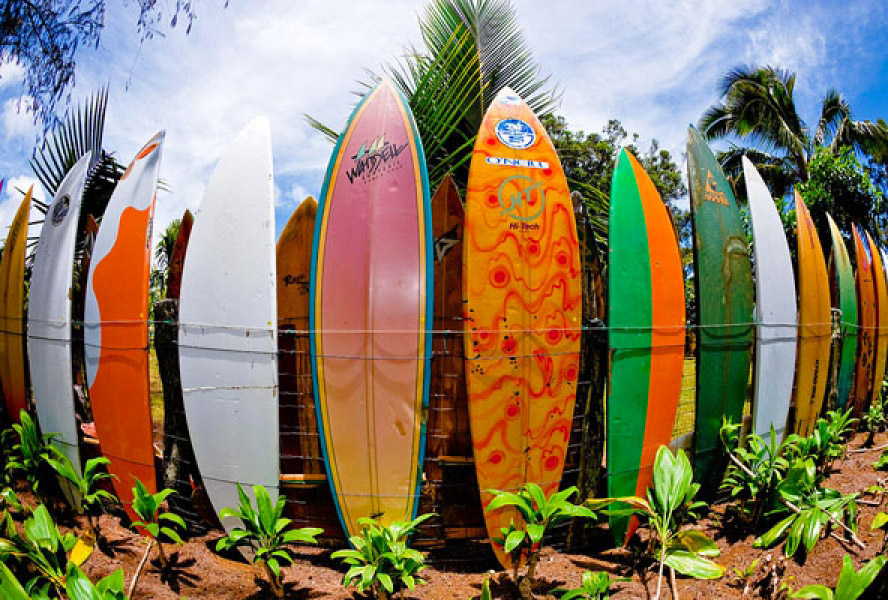 Surfboard Fence Idea